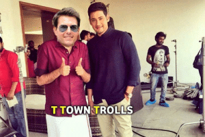 Fight, Mahesh Babu, and Ntr: T TOWN TROLLS Mission confusion: Jr NTR and Mahesh Babu fans fight on Tom Cruise's ...