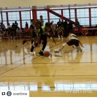 LeBron James Jr. out here breaking ankles 😳 (via @overtime, h-t @houseofhighlights): t1 O overtime  C) overtime  0 LeBron James Jr. out here breaking ankles 😳 (via @overtime, h-t @houseofhighlights)