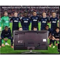 UEFA Champions League group stages begin today!!!: MAN UNITED READY FOR THE 2014/15 CHAMPIONS LEAGUE  AON UEFA Champions League group stages begin today!!!