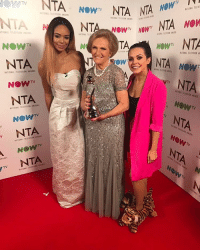 Memes, Television, and 🤖: TA  NOWN  NTA NTA NOW  A NIA  NOW  NTA  NATIONAL TELEVISION  NOWTV  NTA  NOW  NT  NOWN NOW  NTA NOW  NTA  TA  NOWTV  NTA  NOW  NTA  NOW  NTA  NOWN  TV NTA. Getting to meet the amazing Mary berry (in my slippers) a memory I will cherish forever ntas maryberry gbbo