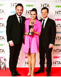 Memes, Television, and 🤖: TA  TA  TA  TA  WARDS  NOW  NATIONAL TEL  NATIONA  NATIONAL  NATIONAL TELESIS  NTA  NOV  NATI  NT  NATIONAL  NOW  NTA  TELEVISION  TA  OW  NTA  NATIONAL TELEVISION  NOW  NTA  NATIONAL TELE ISION AaAR Honestly still can't believe how amazing the NTAs were. And I'm still in sheer disbelief that I get to work with my two heroes and learn from the best in the business, thank you both so much ant and Dec and ITV for these amazing opportunities ntas Make up and hair by the beautiful and talented @schullerinc 👸🏻