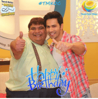Happy Birthday Varun Dhawan! Neela Tele Films Private Limited and #TMKOC Team wishes you loads of happiness and success for the future!  #VarunDhawan: Taarak Mehta  ka OOLTAH  CHASHMAH  Sg. S  Neela Tele Films Happy Birthday Varun Dhawan! Neela Tele Films Private Limited and #TMKOC Team wishes you loads of happiness and success for the future!  #VarunDhawan