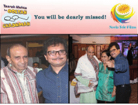 Team #NeelaTeleFilms & Team #TMKOC is and will always remain grateful to Late Shri Tarak Mehta Ji for his constant love and support towards us. His unmatched talent has made us laugh and touched our hearts all these years and he will be immortal in our hearts. Thank you Tarak ji for making us laugh and learn each day with your brilliant mind and beautiful thoughts. #Condolences #RIP: Taarak Mehta  ka OOLTARI  You will be dearly missed!  CHASHMAN  Neela Tele Films Team #NeelaTeleFilms & Team #TMKOC is and will always remain grateful to Late Shri Tarak Mehta Ji for his constant love and support towards us. His unmatched talent has made us laugh and touched our hearts all these years and he will be immortal in our hearts. Thank you Tarak ji for making us laugh and learn each day with your brilliant mind and beautiful thoughts. #Condolences #RIP