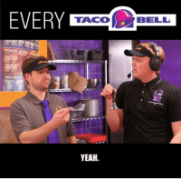 Dank, Taco Bell, and Yeah: TACO  BELL  POWER MENU  MEAL DEALS  YEAH. Live Mas! It's Every Taco Bell Ever! 🌮