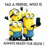 Memes, Selfie, and 🤖: TAG A FRIEND, WHO IS  4  ALWAYS READY FOR SELFIE ! Tag that Moron 😎 📷📷