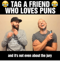 "Memes, Puns, and 🤖: TAG A FRIEND  WHO LOVES PUNS  1875  ATHLETIC DEPART  and it's not even about the jury The original ""Spuntaneous"" w- @john_nonny 😂😂 (PART 1)"