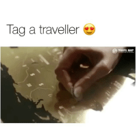 Memes, Link, and Maps: Tag a traveller  TRAVEL MAP Purchase Our Scratch-Off Maps with the Link in @thetravelershop Bio 😍They're Only $9.99 For Next Few Hours! ✈️🌍