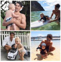 Phone, The Bachelor, and Tag Someone: Tag someone so they have to unlock their phone to see a picture of Matty J and his nephew 😍😍😍