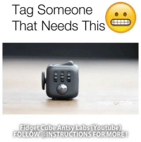 Follow @inventastic: Tag Someone  That Needs This  Fidget Cube Antsy Labs (Youtube  FOLLOW @INSTRUCTIONS FOR MORE! Follow @inventastic