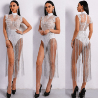 Funny, Tag Someone, and Code: Tag someone that would like like an absolute goddess in this! Zaza Bodysuit: available from @tropic.mantra 30% OFF with code: THINK30