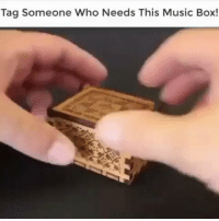 Music, Tag Someone, and Box: Tag Someone Who Needs This Music Box! Where can I find this? 😍 https://t.co/0US0bPH1J0