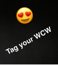 Tag your WCW Tag a baddie. Going to choose a winner tonight WCW