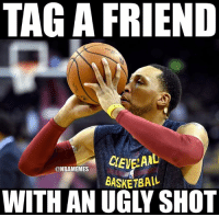 Who has an ugly shot form?: TAGA FRIEND  ONBAMEMES  BASKETBALL  WITH AN UGLY SHOT Who has an ugly shot form?