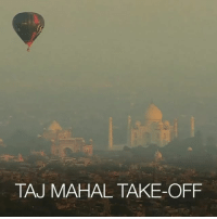 19 DEC: A hot-air-balloon festival with pilots from 12 countries has been taking place in India. Those taking part enjoyed spectacular views of the Taj Mahal. Find out more: bbc.in-hotairballoons TajMahal India HotAirBalloons BBCShorts BBCNews @BBCNews: TAJ MAHAL TAKE-OFF 19 DEC: A hot-air-balloon festival with pilots from 12 countries has been taking place in India. Those taking part enjoyed spectacular views of the Taj Mahal. Find out more: bbc.in-hotairballoons TajMahal India HotAirBalloons BBCShorts BBCNews @BBCNews