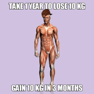 Only One, Can, and One: TAKE 1YEAR TO LOSE 10 KG  GAIN 10 KGIN 3 MONTHS I cant be the only one?