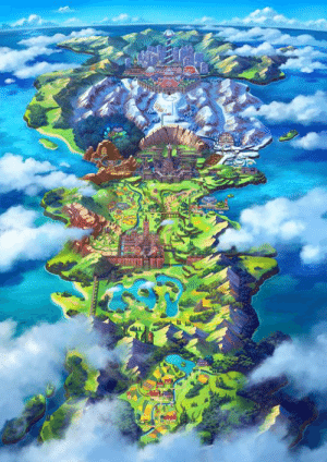 Dank, 🤖, and New: Take a look at the new region, the Galar Region