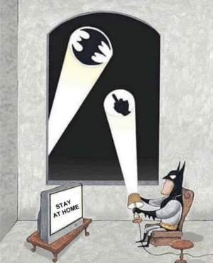 Take Batman's advice: Take Batman's advice