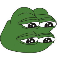 Take care of my rare sad Pepe