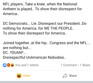 Taking a knee during the National Anthem isn't disrespectful: Taking a knee during the National Anthem isn't disrespectful