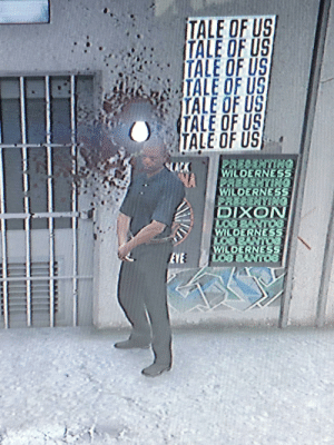 Shoutout to the security guard outside my nightclub, he was shot in the head 10+ times whilst I did the Revolver challenge and kept coming back to stand on the door. The real MVP.: TALE OF US  TALE OF US  TALE OF US  TALE OF US  TALE OF US  TALE OF US  TALE OF US  PRESENTING  WILDERNESS  PRESENTING  WILDERNESS  2RESENTING  DIXON  LOBBANT03  WILDERNESS  LOB8ANTO  WILDERNESS  LOS BUNT03  LACK  ONILNI  EVE Shoutout to the security guard outside my nightclub, he was shot in the head 10+ times whilst I did the Revolver challenge and kept coming back to stand on the door. The real MVP.