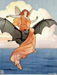 Target, Tumblr, and Blog: talesfromweirdland:Charles Buchel art for a theatrical production of The Tempest. 1904.