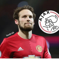 Ajax are considering a summer move to take Manchester United's Daley Blind back to Holland.: talk  Transfer adidas  X  A AMSTE Ajax are considering a summer move to take Manchester United's Daley Blind back to Holland.