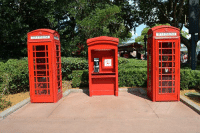 "Apparently, Disney, and Love: taltal-taters:  heyheyitsmarissa:  nirvanic-s:  asherlockian:  starfishface:  wonkwink:  a-certain-level-5-hamsteak:  madteacups:  chronicles-of-a-cast-member:  thoroughly-modern-minnie:  EPCOT Phone Booths! If you've ever wanted to call, these are apparently the phone numbers for the booths in Canada and the UK pavilions. U.K. Phone Booths Right Booth: 407 827-9861 Left Booth: 407 827-9862 Center Booth: 407 827-9863 Canada Phone Booth 407-827-9884 Go ahead! Reach out to a Disney guest and tell us all about it!  When I visited Epcot a couple weeks ago, I called the one on the right while some girl from a tour group was in there. She hung up the moment I said, ""Hello?""  I'm actually really tempted to call right now.  I JUST CALLED THE CENTER ONE AND A LITTLE GIRL PICKED UP AND I SAID ""ARE YOU HAVING FUN?""  SHE WAS LIKE WHO IS THIS AND I LAUGHED AND HUNG UPx WHAT COOL why does this not have more notes  I AM SO DOING THIS LATER oh my goodness. :D  i am totally doing this someday.  THIS KID JUST TOLD ME THE BEST JOKE  I JSUT CALLED THE UK ONE AND THIS GUY PICKED UP AND HIS NAME WAS RAFAELLE AND HE WAS FROM BRAZIL AND I TOLD HIM I WAS IN MASSACHUSETTS IN THE STATES AND HE SAID HE HAD TO GO AND I SAID ""OK HAVE FUN AND A SAFE TRIP BACK HOME"" AND HE SAID ""OK KISSES LOVE YOU"".  Filed under: things to do when parents aren't home to hear you talking to strangers in Disney."