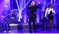 "Pressure, Target, and Http: TAMA <p><a href=""http://www.nbc.com/the-tonight-show/video/duran-duran-pressure-off/2906506"" target=""_blank"">Start grooving: Duran Duran performs &ldquo;Pressure Off&rdquo;!</a><br/></p>"