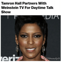 Image result for Tamron Hall's New Talk Show Deal