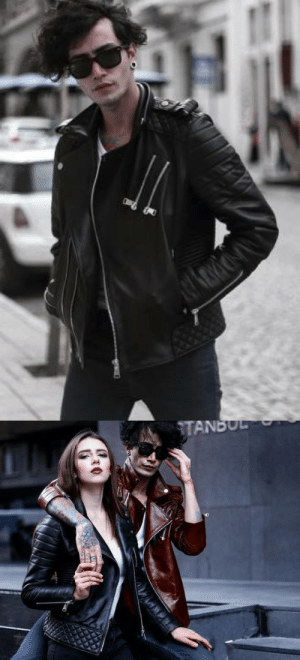 "Lol, Tumblr, and Blog: TANBUL lol-coaster:  Custom leather jackets from world-renowned leather company Custom leather jackets from a world famous jacket company are now being sold directly to consumers. Valeriano Romano Leather Company, based in Turkey, is one of the world's premiere leather garment companies. Now the same leather that goes into the jackets worn by the world's rich and famous is available direct to consumers everywhere. You can go their ""Made to Measure Leather Jacket"" live project on KICKSTARTER : https://goo.gl/yfOUXB Also you can support us on Thunderclap : https://goo.gl/f0Y869"