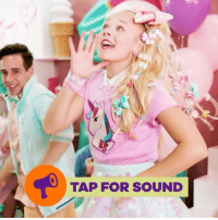 "JoJoSiwaNewMusic is sure to sweeten up your day! Head to JoJoSiwa's YouTube channel to watch the full MusicVideo for ""Kid in a Candy Store"" ❤️: TAP FOR SOUND JoJoSiwaNewMusic is sure to sweeten up your day! Head to JoJoSiwa's YouTube channel to watch the full MusicVideo for ""Kid in a Candy Store"" ❤️"
