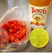 MY FAVE!: TAPAT0  SALSA PICANTE  0 ot Sauce L MY FAVE!