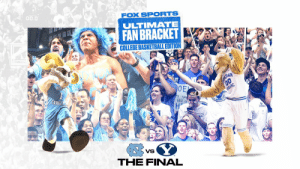 TAR HEELS 🆚 COUGARS  @UNC_Basketball and @BYUbasketball advance to the Final of our Ultimate Fan Bracket! 🙌🔥 #FOXFanVote https://t.co/Q2Ug4YBtZd: TAR HEELS 🆚 COUGARS  @UNC_Basketball and @BYUbasketball advance to the Final of our Ultimate Fan Bracket! 🙌🔥 #FOXFanVote https://t.co/Q2Ug4YBtZd