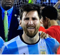 Ronaldo carrying his nation to the Euro finals. Messi carrying his father to jail.: TAR Ronaldo carrying his nation to the Euro finals. Messi carrying his father to jail.