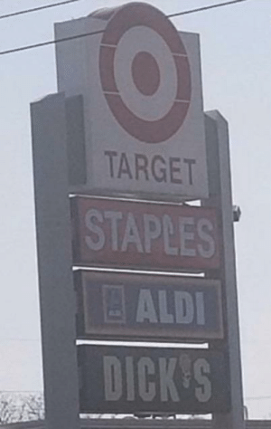 Target doesn't just staple some, it staples all of them: Target doesn't just staple some, it staples all of them