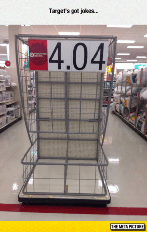 Target, Tumblr, and Blog: Target's got jokes...  4.04  expect more  THE META PICTURE srsfunny:Target Humor