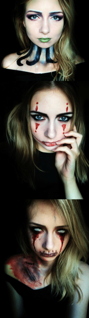tarinya-quinn:  @into-solitude tagged me to post Halloween/Autumn photos and I had planned to do something specific for it but I haven't had the time to create lately. So here are three Halloween looks I did a couple of years ago! Thank you for the fun tag, Em! Maybe I can do something better later…I don't know who's already done this so if anyone wants to participate, just say I tagged you! Otherwise I tag: @hera-salander@bloodofheroes @gipsyspirits @victoria-krueger @vulpesfawkes @letwhatyoulovekillyouu @wolves-of-the-flame @ashesofthepaleserpent @beatasticband @sinkingintothevoid @night-witch-of-the-butts @vandathielnir @nuclearbats @elixmia and @kvlt-cvnt: tarinya-quinn:  @into-solitude tagged me to post Halloween/Autumn photos and I had planned to do something specific for it but I haven't had the time to create lately. So here are three Halloween looks I did a couple of years ago! Thank you for the fun tag, Em! Maybe I can do something better later…I don't know who's already done this so if anyone wants to participate, just say I tagged you! Otherwise I tag: @hera-salander@bloodofheroes @gipsyspirits @victoria-krueger @vulpesfawkes @letwhatyoulovekillyouu @wolves-of-the-flame @ashesofthepaleserpent @beatasticband @sinkingintothevoid @night-witch-of-the-butts @vandathielnir @nuclearbats @elixmia and @kvlt-cvnt