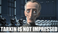 I am not impressed! (From Star Wars Rebels Screenshots): TARKIN IS NOT IMPRESSED I am not impressed! (From Star Wars Rebels Screenshots)