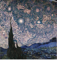"Memes, Nasa, and Image: tase sus Van Gogh's ""Starry Night,"" but with a real image of Jupiter and its clouds - storms Image: Amelia Carolina with images from Junocam space nasa astronomy"