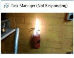 Java, Manager, and Task Manager Not Responding: Task Manager (Not Responding) Powered by JAVA
