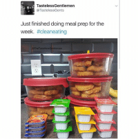Ass, Ass Eating, and Condom: Tasteless Gentlemen  @TastelessGents  Just finished doing meal prep for the  week  #clean eatin  @TheTastelessGentlemen Clean, lean, no condom wearing, ass eating machine.