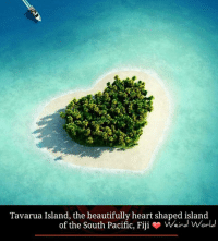 Memes, Fiji, and 🤖: Tavarua Island, the beautifully heart shaped island  of the South Pacific, Fiji  o Weird World