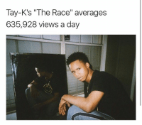 Tay-K's the Race Averages 635928 Views a Day Tayk the Race Song