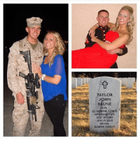"America, Bad, and Bad Day: TAYLOR  BAUNE  CPL.  US MARINE COR  AFGHANISTAN  AUG 21 1990  JUN 13 2012  PH KIA  SEMPER FIDELIS Repost from @battle_pictures_ HERO OF THE DAY: Marine Cpl. Taylor J. Baune of Andover, Minn., died at age 21 on June 13, 2012 in Helmand province, Afghanistan, while conducting combat operations. Taylor joined the Marines shortly after graduating from Andover High School in 2009. ""He was a fun, outgoing guy. Very forward. He loved to make other people happy,"" said his wife Colleen Baune. ""If someone was having a bad day, he'd do anything to make it better."" He was assigned to 1st Battalion, 7th Marine Regiment, 1st Marine Division, I Marine Expeditionary Force, Twentynine Palms, Calif. americanveterans veterans usveterans usmilitary usarmy supportveterans honorvets usvets america usa patriot uspatriot americanpatriot supportourtroops godblessourtroops ustroops americantroops semperfi military remembereveryonedeployed deplorables deployed starsandstripes americanflag usflag respecttheflag marines navy airforce"