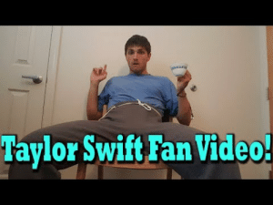 Music, Taylor Swift, and Tumblr: Taylor Swift Fan Video! claricesullivanofficial: I liked Taylor Swifts new music video so much I wanted to remake it myself! But to be honest the video did make me pee myself a little witch I aint like doin on accident. Consider a like scribe thumb if you enjoyed my video! I have other vides on my chanel to!