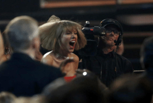 taylorswift-news:    February 15: Taylor reacts after hearing Ed Sheeran won Song of the Year at the 58th Annual Grammy music Awards in Los Angeles   : taylorswift-news:    February 15: Taylor reacts after hearing Ed Sheeran won Song of the Year at the 58th Annual Grammy music Awards in Los Angeles
