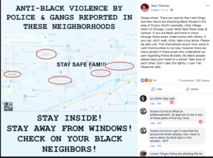 TBH i have heard both sides one saying that black people came instigating and the other is a BUNCH of stories about this stuff, which means for all the Chicago Raza a knee jerk reaction post explaning how thats not them. Ahora por culpa de ellos, negros que no gustan a los mexicanos puden decir todo: TBH i have heard both sides one saying that black people came instigating and the other is a BUNCH of stories about this stuff, which means for all the Chicago Raza a knee jerk reaction post explaning how thats not them. Ahora por culpa de ellos, negros que no gustan a los mexicanos puden decir todo