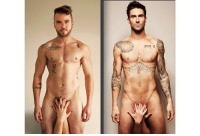 """Dank, Tbt, and Transgender: #TBT Circa Feb 2015. This photo was created with @ftmmagazine to show the world that Transgender Men are also Men. Hit the """"Like"""" if you agree! #ftm #ftmmagazine #trans #transgender #femaletomale #adamlevine #circa2015 #aydiandowling #alionsfears #transman #transpride"""