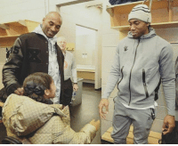 TBT to Kobe's daughter Gianna meeting Kawhi Leonard for the first time. HOOPSNATION: TBT to Kobe's daughter Gianna meeting Kawhi Leonard for the first time. HOOPSNATION