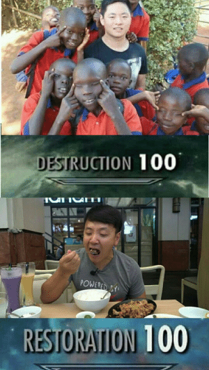 Anaconda, Dank, and Memes: tC  DESTRUCTION 100  POWERED r  1ee No offense by lBijanl MORE MEMES